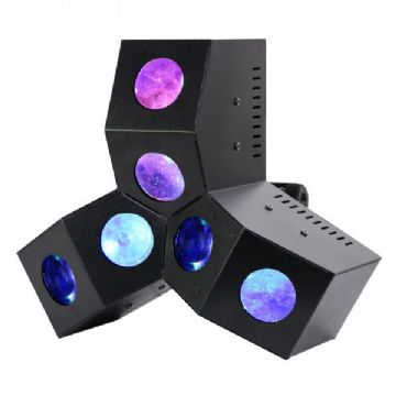 Equinox Six Shooter MKII 24 x 3W LED DMX Effect